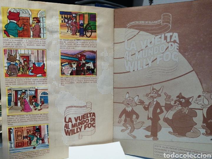 Coleccionismo Álbum: Album de cromos Completo LA VUELTA AL MUNDO DE WILLY FOG. DANONE - Foto 11 - 206233086
