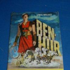 Coleccionismo Álbum: ALBUM BEN-HUR LEWIS WALLACE - COMPLETO, 1EDC 1969 EDT BRUGERA, SEÑALES DE USO NORMALES. Lote 206355150