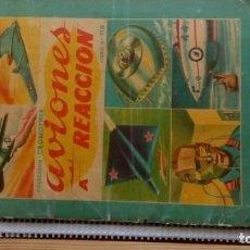 Coleccionismo Álbum: COLECCIÓN CROMOFHER--AVIONES A REACCION. Lote 206413697