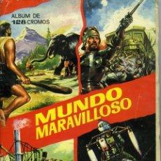 Coleccionismo Álbum: ÁLBUM MUNDO MARAVILLOSO COMPLETO, CLUB AMIGOS ELGORRIAGA, 1965. 128 CROMOS.. Lote 206459580