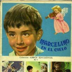 Coleccionismo Álbum: ÁLBUM MARCELINO EN EL CIELO, FHER, BILBAO 1958. COMPLETO. Lote 206464238