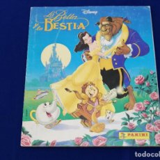 Coleccionismo Álbum: LA BELLA Y LA BESTIA-ALBUM COMPLETO. Lote 206591855