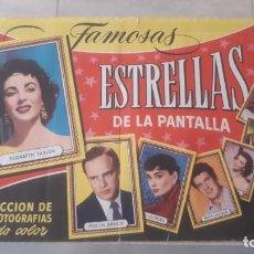 Coleccionismo Álbum: ALBUM FAMOSAS ESTRELLAS DE LA PANTALLA COMPLETO EDITORIAL BRUGUERA Y EN BUEN ESTADO. Lote 206783248