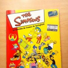 Coleccionismo Álbum: ALBUM COMPLETO SIMPSONS SPRINGFIELD 1 SIMPSON CROMOS PANINI. Lote 43720916