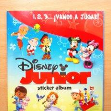 Coleccionismo Álbum: ALBUM COMPLETO DISNEY JUNIOR 1 2 3 VAMOS A JUGAR CROMOS PANINI 2014. Lote 69721721