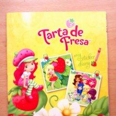 Coleccionismo Álbum: ALBUM COMPLETO TARTA DE FRESA MY STICKER DIARY CROMOS PANINI. Lote 69722077