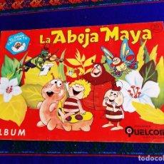 Coleccionismo Álbum: LA ABEJA MAYA EL GRAN ÉXITO DE TV COMPLETO. QUELCOM 1978. BUEN ESTADO.. Lote 207073533