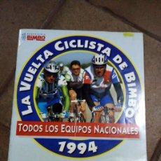 Coleccionismo Álbum: ALBUM COMPLETO LA VUELTA CICLISTA DE BIMBO, 1994, NO PHOSKITO,PANRICO,MATUTANO,CROPAN. Lote 207136250