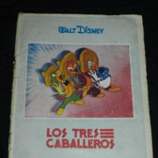 Coleccionismo Álbum: ALBUM COMPLETO - LOS TRES CABALLEROS - WALT DISNEY, CROMOS LUCES, MADRID EDICIONES ACYL. Lote 207628791
