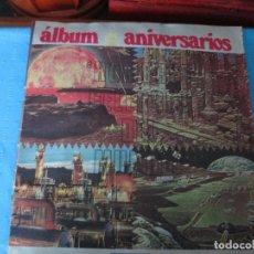 Coleccionismo Álbum: ALBUM DE LOS ANIVERSARIOS URUGUAY AÑOS 70. Lote 207683988