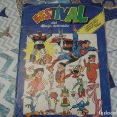 Coleccionismo Álbum: ALBUM COMPLETO FESTIVAL DEL DIBUJO ANIMADO DE PACOSA DOS. Lote 207866168