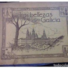 Coleccionismo Álbum: LAS BELLEZAS DE GALICIA..ESPAÑA TURISTICA Y MONUMENTAL 2º ALBUM DE POSTALES,.. COMPLETO. Lote 208061042