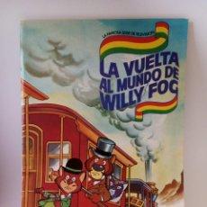 Coleccionismo Álbum: ALBUM DE CROMOS COMPLETO - LA VUELTA AL MUNDO DE WILLY FOG - DANONE, BRB, 1983. Lote 208325243