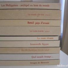 Coleccionismo Álbum: LOTE 8 ÁLBUMES CROMOS NESTLE COMPLETOS--MUY BUEN ESTADO. Lote 208359140
