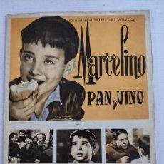 Coleccionismo Álbum: ALBUM DE CROMOS COMPLETO - MARCELINO PAN Y VINO - COLECCION LIBROS EDUCATIVOS DE FHER - AÑO 1957. Lote 208381550
