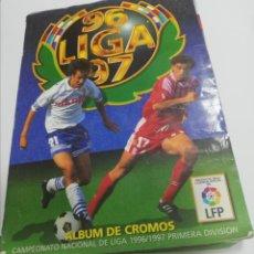 Coleccionismo Álbum: ALBUM COMPLETO. LIGA 96/ 97. COLECCIONES ESTE. CONTIENE 97 DOBLES Y 39 COLOCA. VER FOTOS.. Lote 208476731