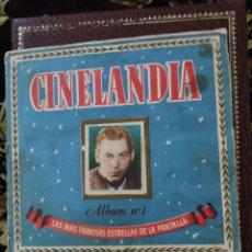 Coleccionismo Álbum: ALBUM COMPLETO CINELANDIA N.1 EDITORIAL BRUGUERA. Lote 208586327