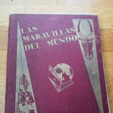 Coleccionismo Álbum: LAS MARAVILLAS DEL MUNDO NESTLE. Lote 208763850