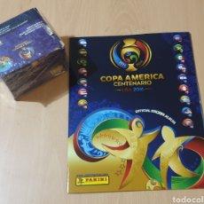 Coleccionismo Álbum: ÁLBUM Y BOX 50 SOBRES SIN ABRIR. Lote 209116655