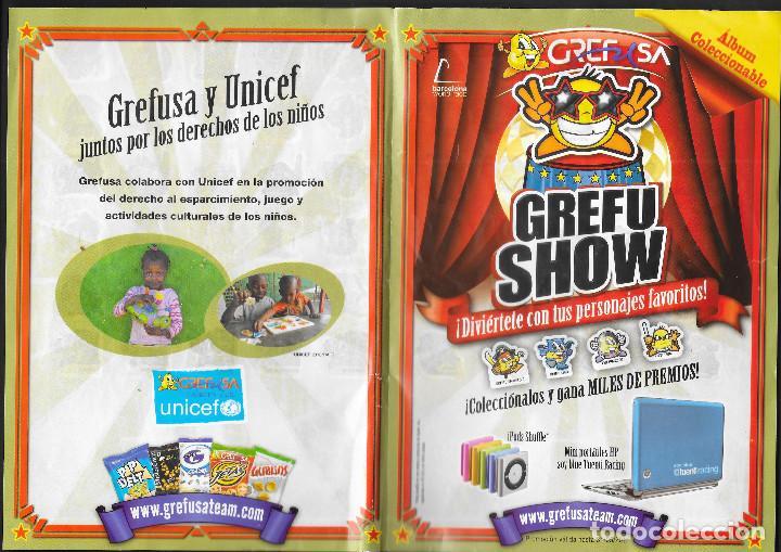 Coleccionismo Álbum: ALBUM DE GREFUSA GREFU SHOW COMPLETO - Foto 2 - 209149536