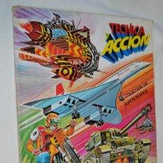 Coleccionismo Álbum: TÉCNICA Y ACCIÓN - ÁLBUM DE ESTE, COMPLETO - BUEN ESTADO GENERAL - AÑOS 80 - ¡MIRA FOTOS/DETALLES!. Lote 209257181