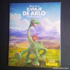 Coleccionismo Álbum: ALBUM COMPLETO DE EL VIAJE DE ARLO- EDITORIAL PANINI - IMPECABLE - A1. Lote 209343405