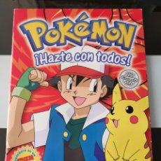 Coleccionismo Álbum: ÁLBUM CROMOS POKEMON SERIE 1 MERLIN TOPPS COMPLETO. Lote 209390011
