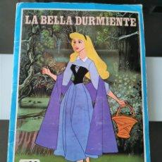 Coleccionismo Álbum: ALBUM CROMOS PELICULA DISNEY LA BELLA DURMIENTE FHER 1973 COMPLETO. Lote 209391745