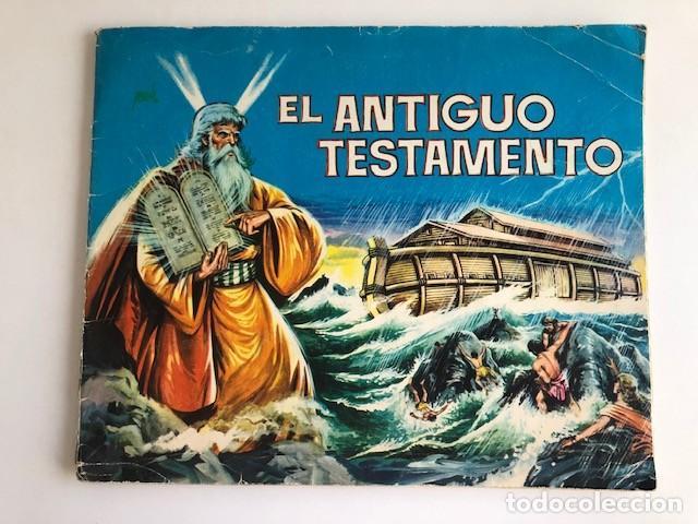 ALBUM EL ANTIGUO TESTAMENTO COMPLETO FERMA 1968 TIENE 247 CROMOS (Coleccionismo - Cromos y Álbumes - Álbumes Completos)