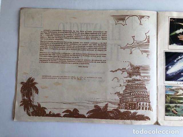 Coleccionismo Álbum: ALBUM EL ANTIGUO TESTAMENTO COMPLETO FERMA 1968 TIENE 247 CROMOS - Foto 4 - 209574147