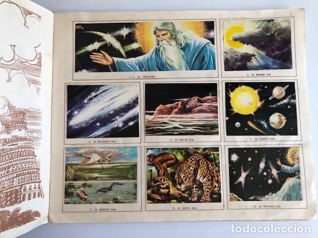 Coleccionismo Álbum: ALBUM EL ANTIGUO TESTAMENTO COMPLETO FERMA 1968 TIENE 247 CROMOS - Foto 5 - 209574147