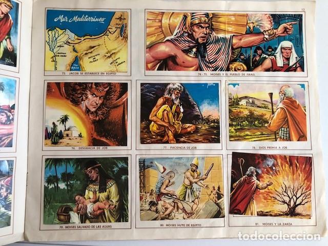 Coleccionismo Álbum: ALBUM EL ANTIGUO TESTAMENTO COMPLETO FERMA 1968 TIENE 247 CROMOS - Foto 12 - 209574147
