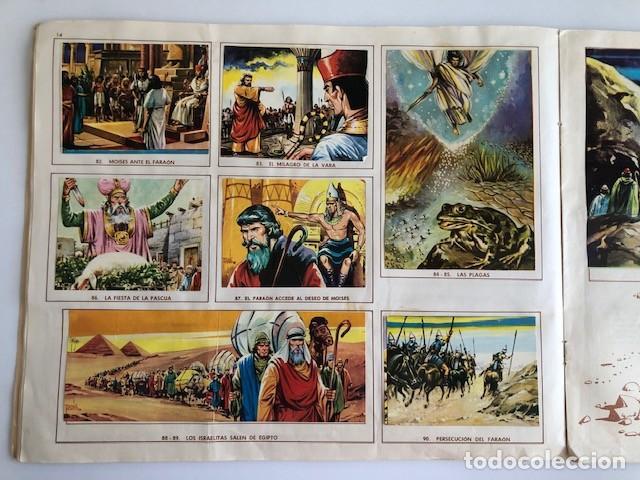 Coleccionismo Álbum: ALBUM EL ANTIGUO TESTAMENTO COMPLETO FERMA 1968 TIENE 247 CROMOS - Foto 13 - 209574147