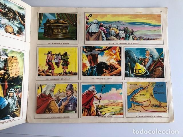 Coleccionismo Álbum: ALBUM EL ANTIGUO TESTAMENTO COMPLETO FERMA 1968 TIENE 247 CROMOS - Foto 15 - 209574147