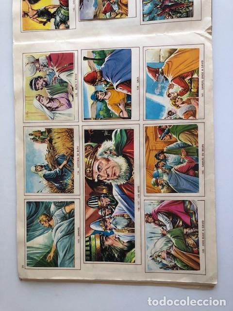 Coleccionismo Álbum: ALBUM EL ANTIGUO TESTAMENTO COMPLETO FERMA 1968 TIENE 247 CROMOS - Foto 18 - 209574147