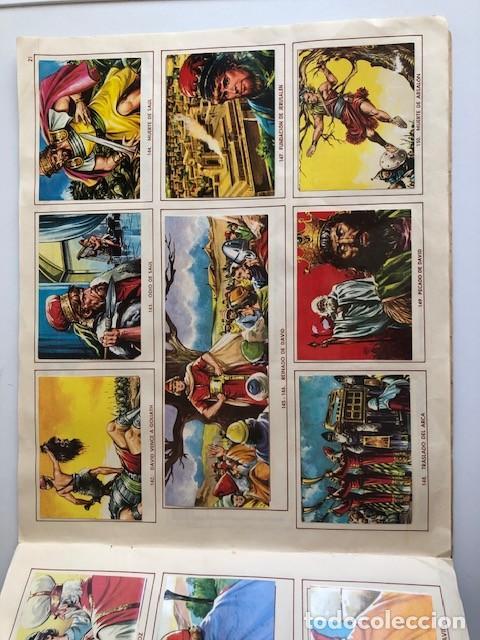 Coleccionismo Álbum: ALBUM EL ANTIGUO TESTAMENTO COMPLETO FERMA 1968 TIENE 247 CROMOS - Foto 19 - 209574147