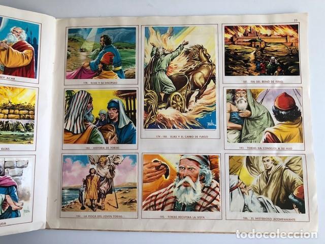 Coleccionismo Álbum: ALBUM EL ANTIGUO TESTAMENTO COMPLETO FERMA 1968 TIENE 247 CROMOS - Foto 22 - 209574147