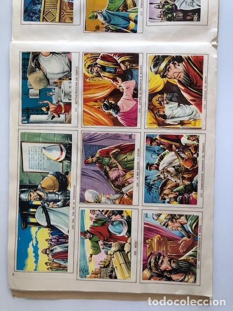 Coleccionismo Álbum: ALBUM EL ANTIGUO TESTAMENTO COMPLETO FERMA 1968 TIENE 247 CROMOS - Foto 25 - 209574147