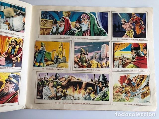 Coleccionismo Álbum: ALBUM EL ANTIGUO TESTAMENTO COMPLETO FERMA 1968 TIENE 247 CROMOS - Foto 26 - 209574147