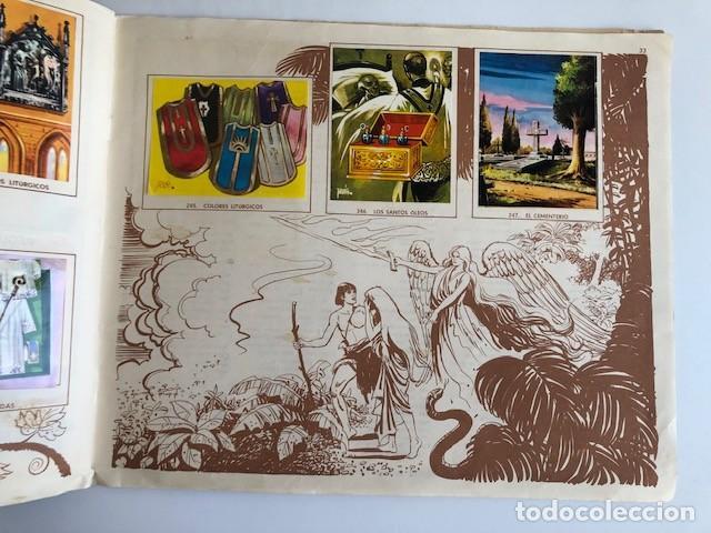 Coleccionismo Álbum: ALBUM EL ANTIGUO TESTAMENTO COMPLETO FERMA 1968 TIENE 247 CROMOS - Foto 29 - 209574147