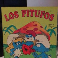 Coleccionismo Álbum: ALBUM DE CROMOS LOS PITUFOS MBE COMPLETO CROMO CROM. Lote 209606427