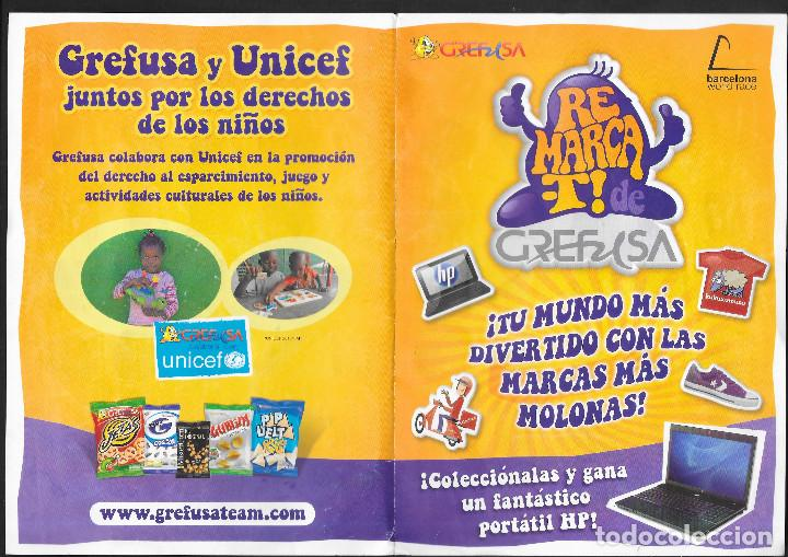 Coleccionismo Álbum: ALBUM DE GREFUSA REMARCA-T COMPLETO - Foto 2 - 209784202