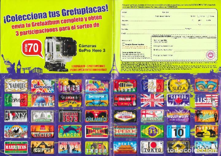 ALBUM DE GREFUSA GREFU DESTINOS O GREFUPLACAS COMPLETO (Coleccionismo - Cromos y Álbumes - Álbumes Completos)