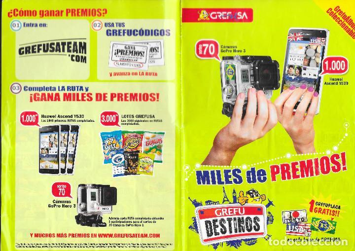 Coleccionismo Álbum: ALBUM DE GREFUSA GREFU DESTINOS O GREFUPLACAS COMPLETO - Foto 2 - 209784983
