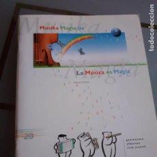 Coleccionismo Álbum: ALBUM CLUB JUVENIL COMPLETO LA MUSICA. Lote 209931686