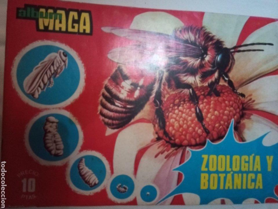 ÁLBUM MAGA, VALENCIA 1969 ZOOLÓGIA Y BOTÁNICA (Coleccionismo - Cromos y Álbumes - Álbumes Completos)