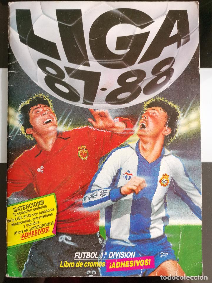 ÁLBUM CROMOS FUTBOL 1987 1988 LIGA ESTE 87 88 NO DISGRA FHER RUIZ ROMERO 427 CROMOS (Coleccionismo - Cromos y Álbumes - Álbumes Completos)
