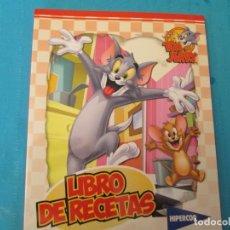 Coleccionismo Álbum: LIBRO DE RECETAS TOM Y JERRY HIPERCOR. Lote 210277302