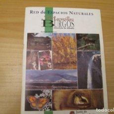Coleccionismo Álbum: ESPACIOS NATURALES BURGOS. Lote 210310542