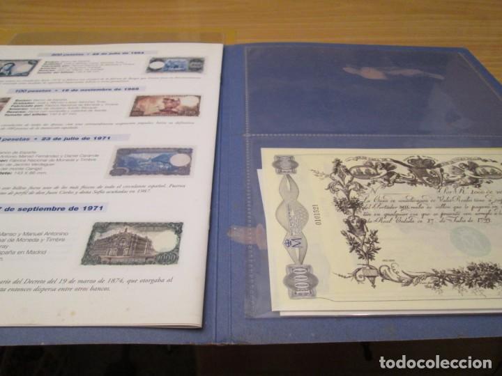 Coleccionismo Álbum: EL PAPEL DE LA PESETA I Y II - Foto 3 - 210312286